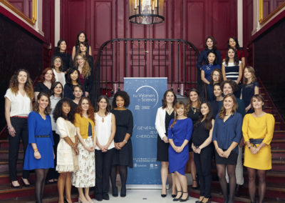 Les 30 boursières de la Fondation L'Oréal France 2017 « For women in Science »