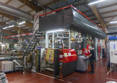Machine d'impresssion Flexo © SAP